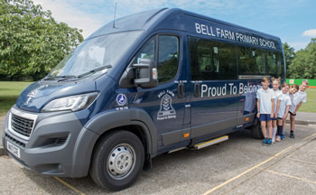Bell Farm School Mini Bus